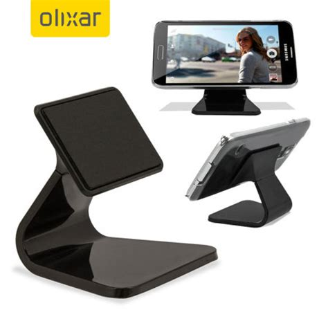 olixar micro suction smartphone desk stand black