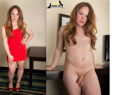44  In Gallery Dressed And Undressed Shemales Picture