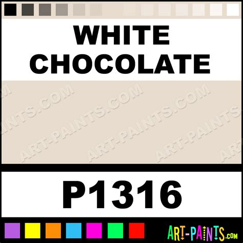 white chocolate ultra ceramic ceramic porcelain paints p1316 white chocolate paint white