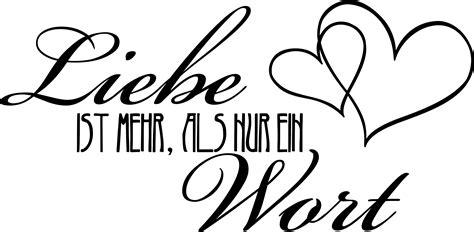 Ist Wohnzimmer Ein Wort by Wandtattoo Liebe Schriftzug Liebe Ist Mehr Als Nur Ein
