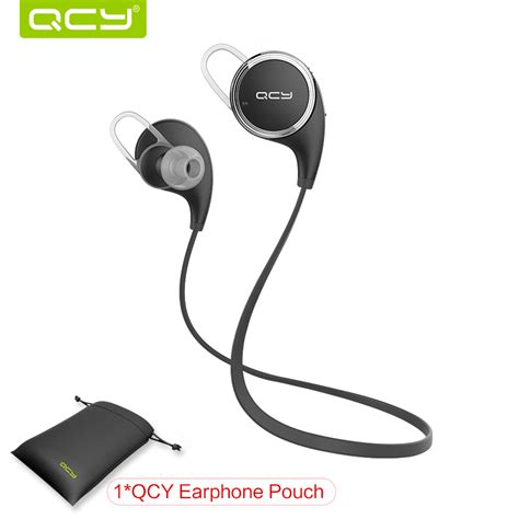 Mini Wireless Bluetooth 41 Earphone Original Qcy Qy26 sale qcy qy8 mini bluetooth 4 1 headset wireless sport bluetooth earphone with mic noise