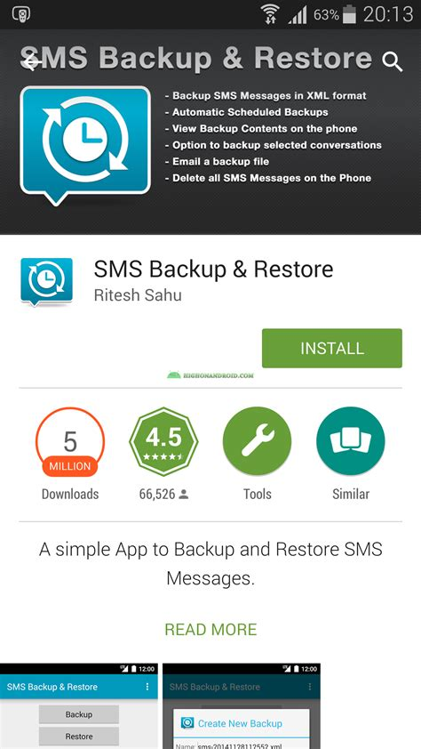 tutorial android backup guide how to backup and restore sms on android no root