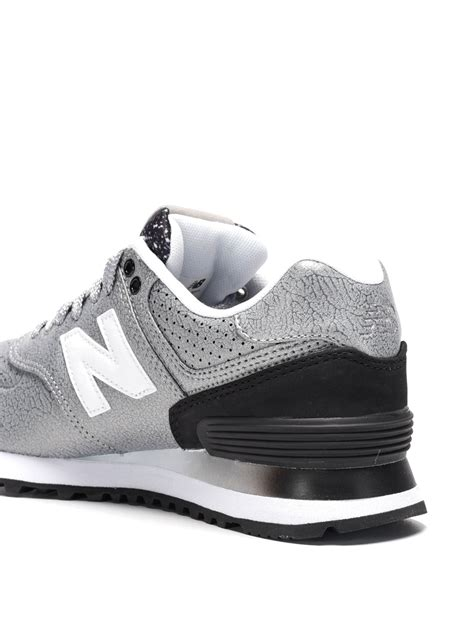 running shoes leather classic metal leather running shoes by new balance