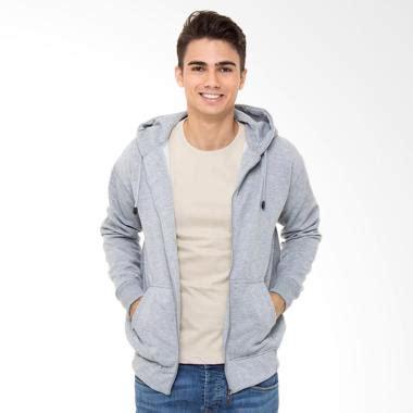 Jaket Anak Hoodie Zipper One Punch Azk jual refill stuff hoodie polos jaket pria grey harga kualitas terjamin
