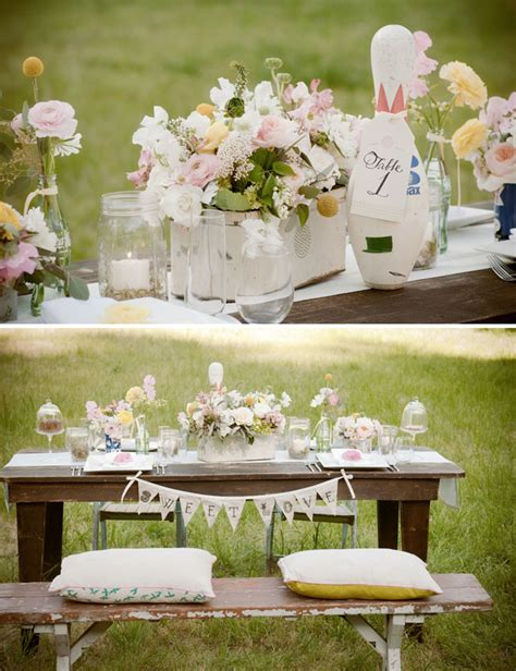 wedding table decorations ideas vintage a soda bar classic ideas for your wedding green wedding shoes wedding