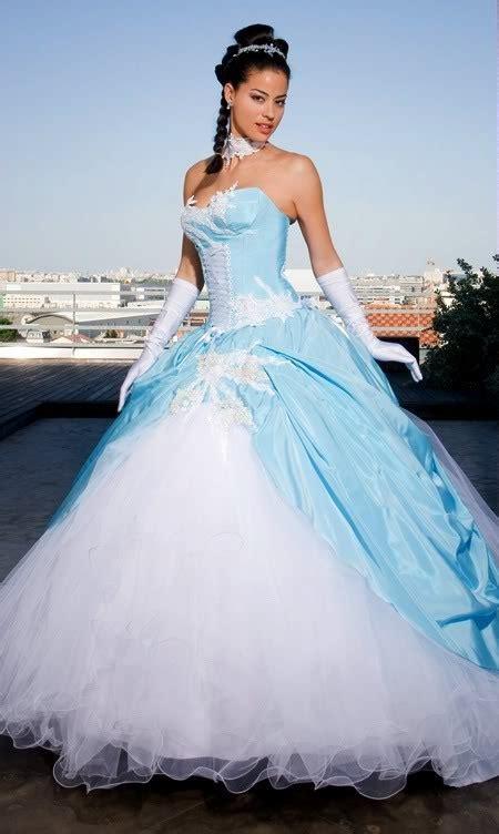 Robe De Mariée Bleu Turquoise Et Ivoire - robe de mari 233 e blanche et bleu turquoise la boutique de maud