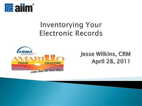 Amarillo Records 20110428 Arma Amarillo Inventory Your Electronic Records