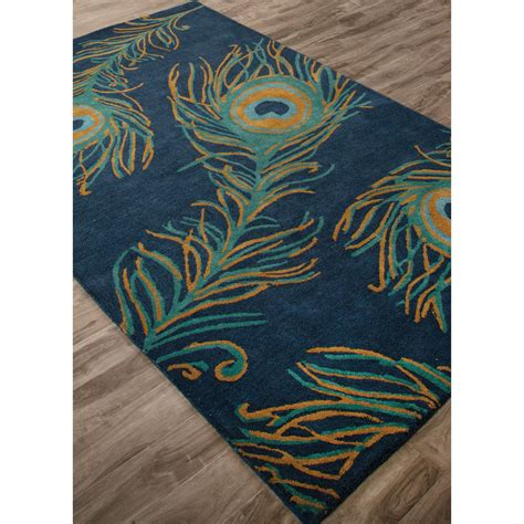 peacock rugs jaipur rugs national geographic home collection peacock indoor area rug area rugs at hayneedle