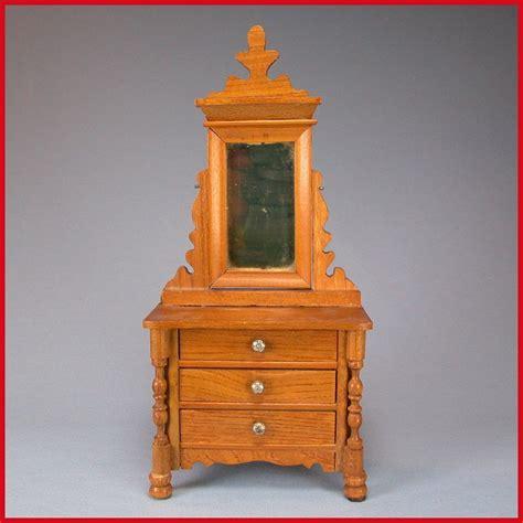 antique dresser with mirror 1800 antique german dollhouse schneegas dresser with swivel