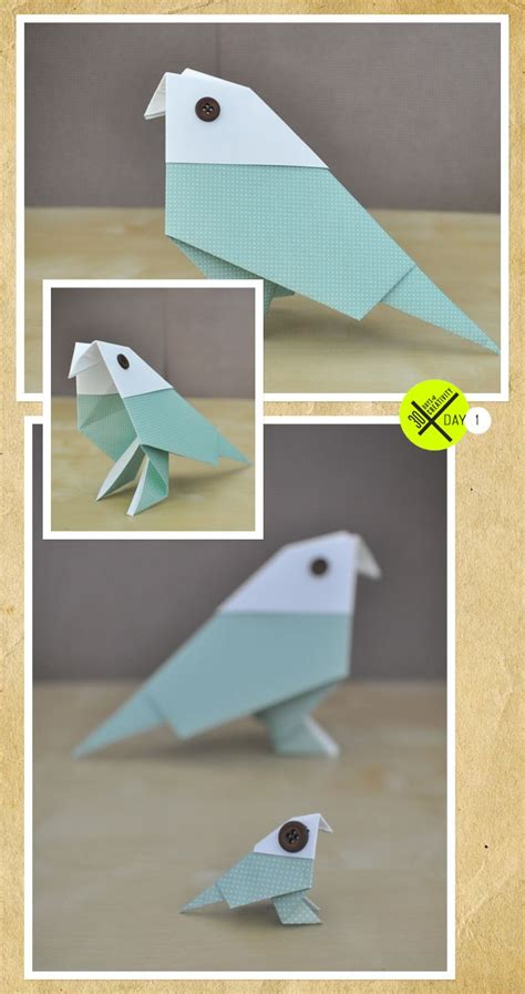 Folded Paper Birds - 17 best images about origami on traditional