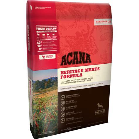 acana puppy food acana heritage meats food 25 lb whitedogbone