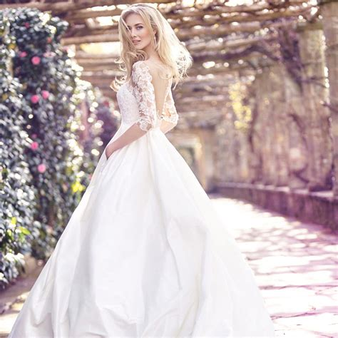 Bridal Dresses With Sleeves by Sleeved Wedding Dresses Hitched Co Uk