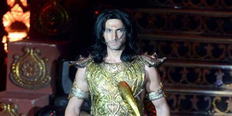 film layar lebar mahabharata berangkat syuting film aham sharma pilih naik helikopter