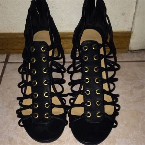 60 jcpenney shoes black wedges from s