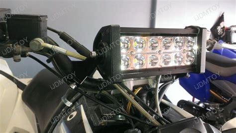 Dirt Bike Led Light Bar 36w High Power Led Light Bar With Mounting Bracket For Atv Utv Dirt Bike