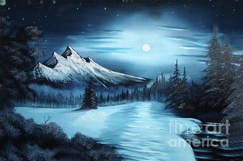 bob ross painting classes seattle bob ross winter painting bob ross winter paintings for