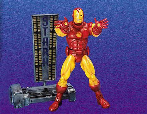 Marvel Legends Toybiz Iron Series I biz marvel legends series one legendscrazy net