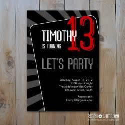 boy s birthday invitation let s