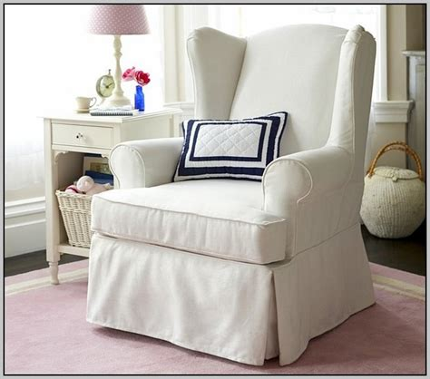 Slipcovers For Wing Chairs Design Ideas Slipcovers For Small Wing Chairs Chairs Home Decorating Ideas Hash