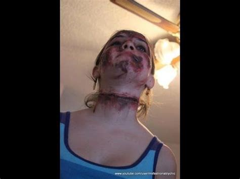 zombie scar tutorial awesome how to do quot zombie quot or fake scars wounds cuts with