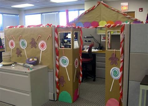 how to decorate my cubicle for christmas creative inspirational work place decorations godfather style