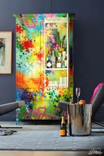 eclectic graffiti furniture by dudeman homeadore
