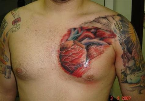 30 stupendous tattoos on the heart creativefan