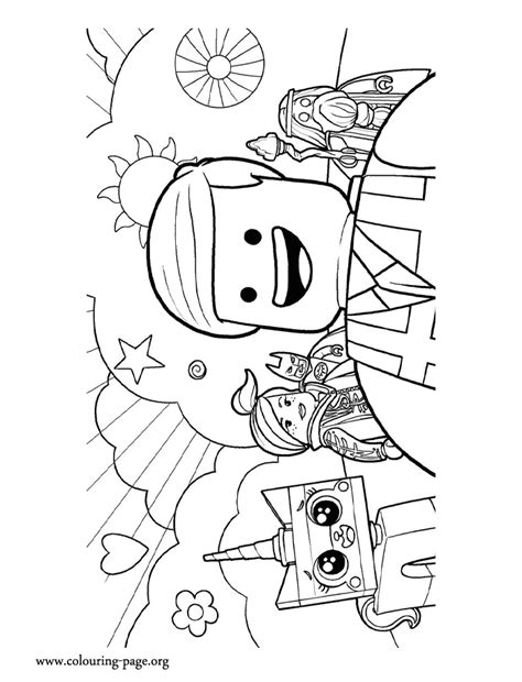 free coloring pages of emmet picture