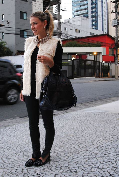 glam4you nati vozza tattoo pictures to pin on pinterest glam4you nati vozza look winter vest fake fur
