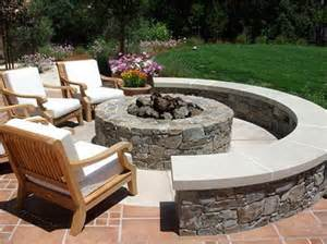 outdoor living decorating ideas with pit home