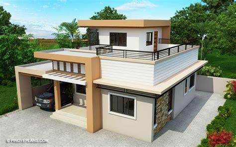 kassandra  storey house design  roof deck pinoy