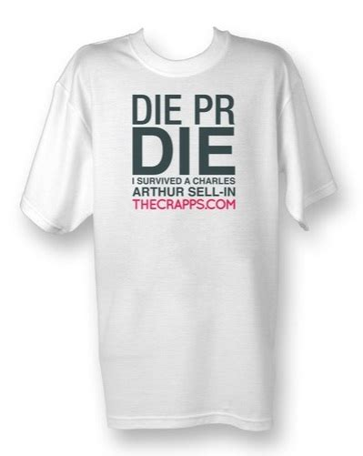 Tshirt Press Sign For Journalists the crapps pr journalist awards are back bigger and better