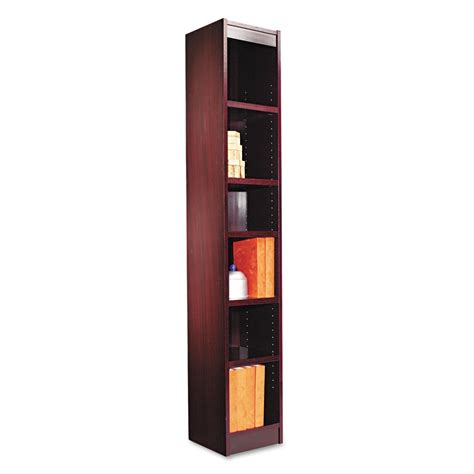 Top 15 Narrow Bookshelf And Bookcase Collection Narrow Wooden Bookcase