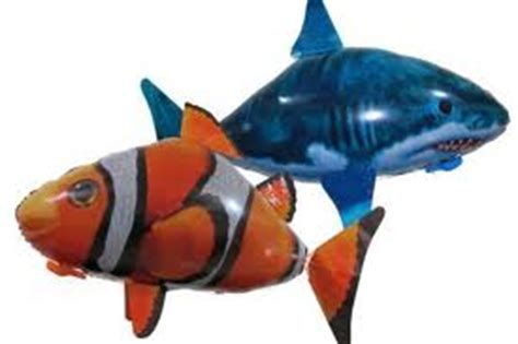 Balon Nemo Balon Ikan air swimmer flying fish wow ada ikan berenang di udara