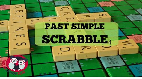 Past Simple Scrabble A1 Speaking Activity Elementary