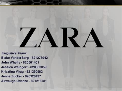 Case Study On Zara Ppt Letter Of Interest Costco A Level Archaeology Coursework Application Zara Ppt Template
