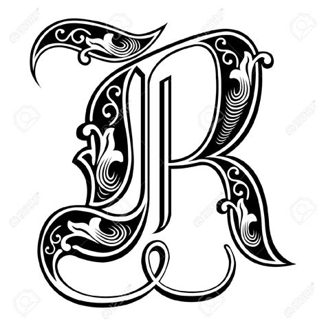 gothic letters tattoo designs beautiful decoration alphabets style