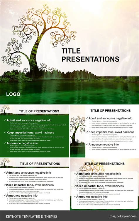 keyhole nature brochure template design id 0000008048 tree of life keynote themes imaginelayout com