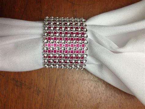 Make Paper Napkin Rings - diy wedding toilet paper bling napkin rings jamaica weddings
