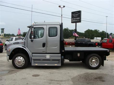 Extended Sleeper Cab by 2012 Freightliner M2 106 Medium Duty Ext Cab Sleeper Sportchassis Truck