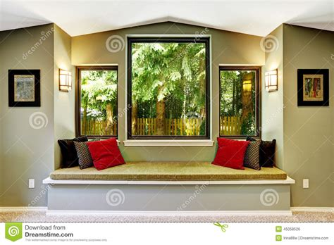sitting window comfort sitting area by the window stock photo image 45058526