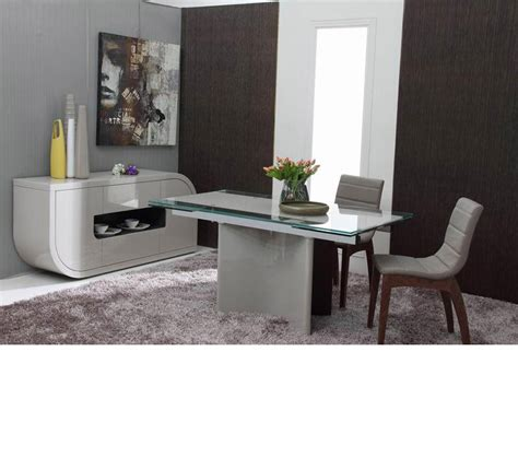 Extendable Dining Room Tables Modern Dreamfurniture Xeno Modern Extendable Dining Table