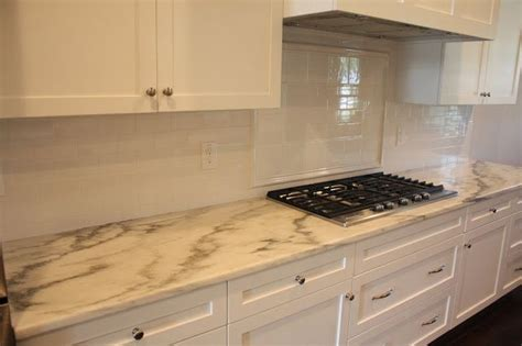 vermont kitchen cabinets vermont danby marble top with white subway tile backsplash