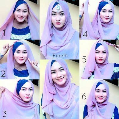 tutorial jilbab syar i ke pesta 1000 images about hijab terbaru fashion dan aksesoris on
