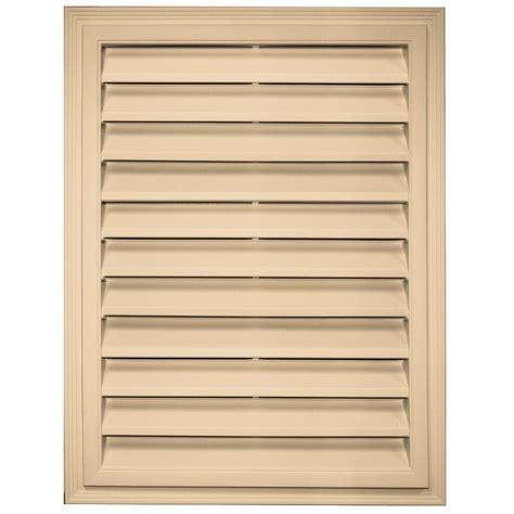 builders edge 18 in x 24 in rectangle gable vent in