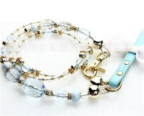 cadenas de lujo para perros compra crystal correas para perros online al por mayor de