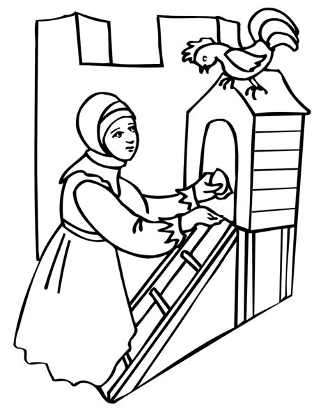 animals homes colouring pages