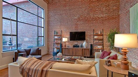 Wall Interior Design Luxurious Apartment With Brick Wall Interior