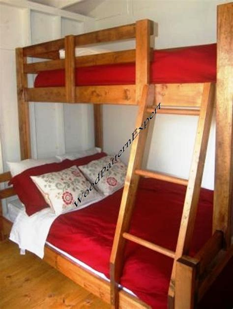 bunk bed paper plans  easy beginners   experts