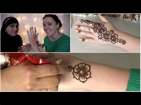 how to henna tattoo zetten youtube